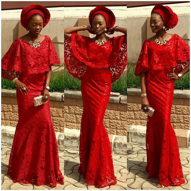 Red Traditional Wedding Dresses